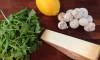 Arugula, Mushroom & Parmesan Salad