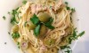 Spaghetti with Tuna and Green Olives